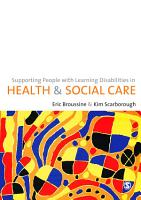 Supporting People with Learning Disabilities in Health and Social Care PDF