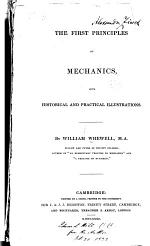 First Principles of Mechanics