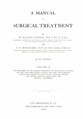 A Manual of Surgical Treatment: The treatment of the surgical affections of the tissues ... Deformities