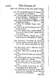 Miscellaneous Reflections Occasion'd by the Comet which Appear'd in December 1680: Chiefly Tending to Explode Popular Superstitions, Volume 1