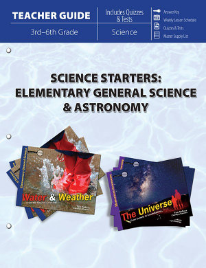 Science Starters  Elementary General Science   Astronomy  Teacher Guide