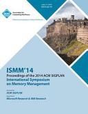 Ismm 14 International Symposium on Memory Management