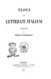 Elogi di letterati italiani scritti da Ippolito Pindemonte