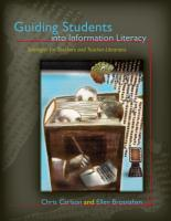 Guiding Students Into Information Literacy PDF