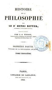 Histoire de la philosophie, 3