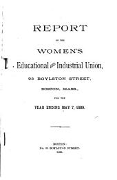 Annual Report of the Women's Educational and Industrial Union