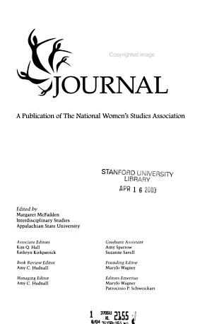 NWSA Journal PDF