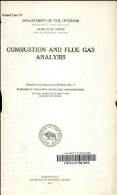 Combustion and flue gas analysis