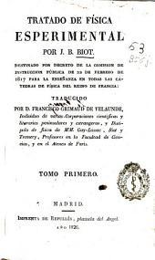 Tratado de física esperimental [sic]: Volumen 1