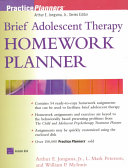 Brief Adolescent Therapy Homework Planner PDF