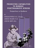 PROMOTING CAPABILITIES TO MANAGE POSTTRAUMATIC STRESS PDF