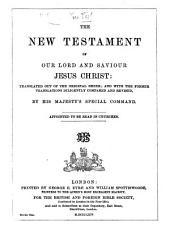 The New Testament, etc. (Le Nouveau Testament ... D'après la version revue par J. F. Ostervald.) Eng. & Fr