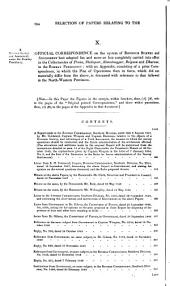 "Revenue Survey (India).: Return to an Order of the Honourable the House of Commons, Dated 22 July 1853; - for A Selection ""of Papers Illustrative of the Character and Results of the Revenue Survey and Assessment which Has Been Introduced Into the North-west Provinces of the Bengal Presidency, Since the Year 1833: ""And. Similar Return as to the Presidency of Bombay."" ..."