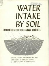 Water intake by soil: experiments for high school students