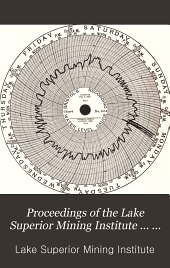 Proceedings of the Lake Superior Mining Institute ... Annual Meeting: Volume 13