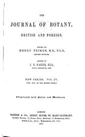The Journal of Botany, British and Foreign: Volume 13