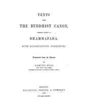 Texts from the Buddhist Canon: Commonly Known as Dhammapada