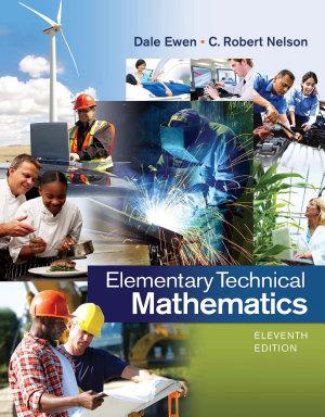 Elementary Technical Mathematics PDF