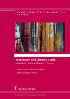 Translation und    Drittes Reich    PDF