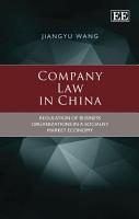 Company Law in China PDF