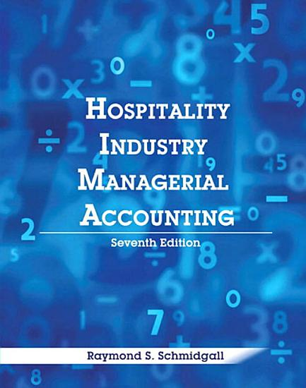 Hospitality Industry Managerial Accounting  AHLEI  PDF