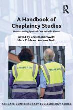 A Handbook of Chaplaincy Studies PDF
