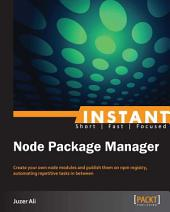 Instant Node Package Manager