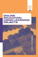 Online Education Using Learning Objects PDF