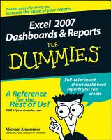 Excel 2007 Dashboards and Reports For Dummies PDF