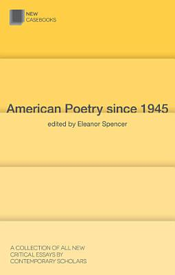 American Poetry since 1945 PDF