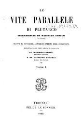 Le vite parallele di Plutarco: Volume 1