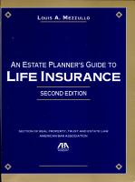 An Estate Planner s Guide to Life Insurance PDF