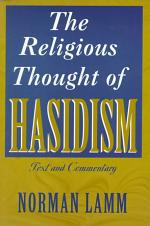 The Religious Thought of Hasidism