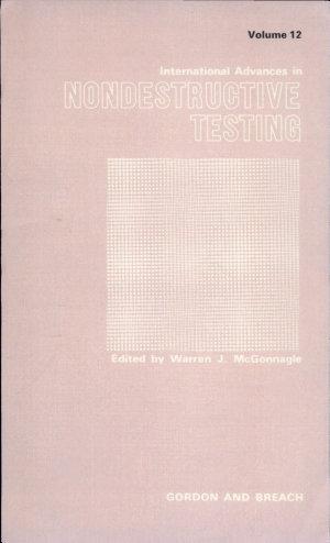 International Advances in Nondestructive Testing
