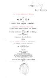 The Works in Verse and Prose Complete of Henry Vaughan, Silurist: Prose ..., Volume 4
