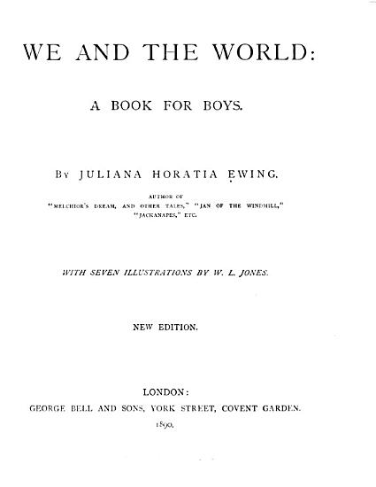 We and the World PDF