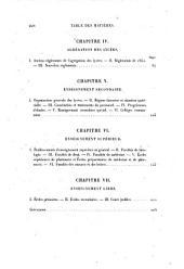 Rapport sur l'organisation et les progrès de l'instruction publique par M. Charles Jourdain