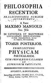 Philosophia recentior: Volume 2