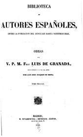 Obras del v. p. m. fray Luis de Granada: Volumen 6