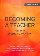 Download Becoming a Teacher  Issues in Secondary Education Book