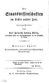 Th. Staatenkunde, und positives Staatsrecht (Verfassungsrecht)
