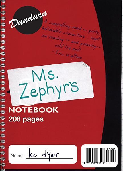 Download Ms  Zephyr s Notebook Book