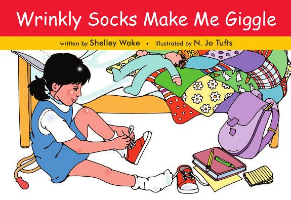 Wrinkly Socks Make Me Giggle PDF