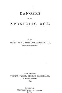 Dangers of the Apostolic Age PDF