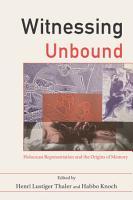 Witnessing Unbound PDF