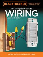 Black   Decker The Complete Guide to Wiring  Updated 7th Edition PDF