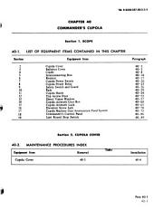 Organizational Maintenance Manual: Turret for Tank, Combat, Full-tracked, 105-mm Gun, M60A1 Rise, (2350-00-116-9765) and M60A1 (Rise Passive), (2350-01-059-1503).