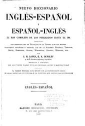 Nuevo diccionario inglés-español y español-inglés: Volume 1