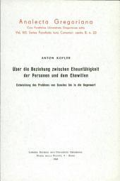 Über die Beziehung zwischen Eheunfähigkeit der Personen und dem Ehewillen: Entwicklung des Problems von Sanchez bis in die Gegenwart, Bände 165-168