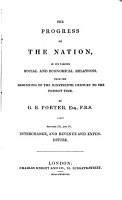 The Progress of the Nation in Its Various Social and Economical Relations from the Beginning of the Nineteenth Century to the Present Time PDF